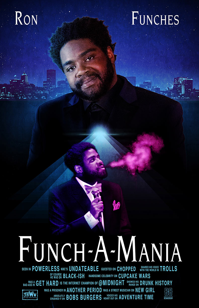 Ronfunches Com Comedian Actor Writer